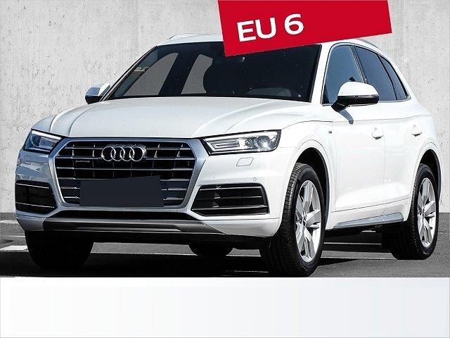 Audi Q5 - 40 TDI quattro S line sport tronic AHK*Keyless go*Navigation*Teilleder