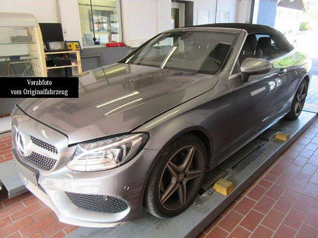 Mercedes-Benz C-Klasse - C 180 Cabriolet AMG Sport LED Navi Totw.-Ass. SH
