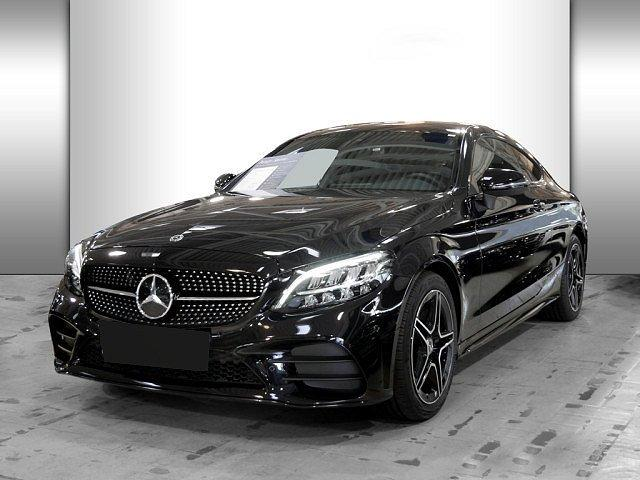 Mercedes-Benz C-Klasse - C 180 Coupe AMG Line 9G Night LED Navi Kamera BT