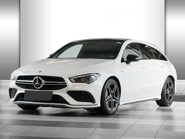 Mercedes-Benz CLA-Klasse AMG - CLA 35 SB 4M Night Pano Distr+ Perf-Sitze