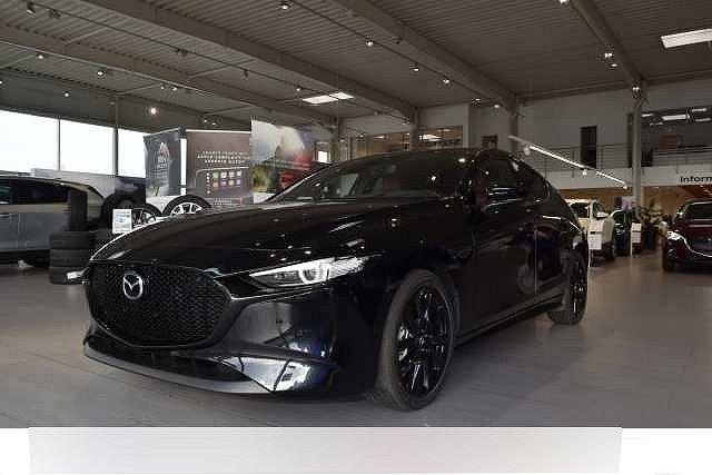 Mazda Mazda3 5-Türer - 3 S SKYACTIV-X 2.0 M-Hybrid AWD 6AG SELECTION DES-P ACT-P BOS LED-ROT A18-S