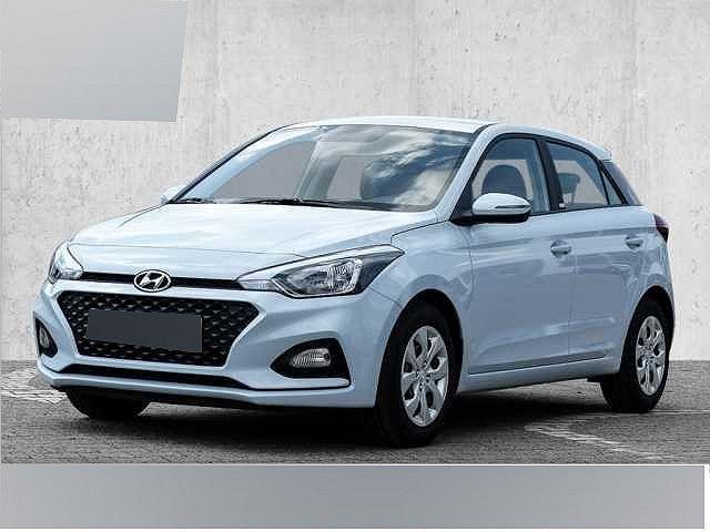 Hyundai i20 - blue 1.0 T-GDI Select Klima Radio