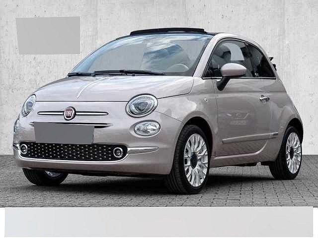 Fiat 500C - Serie 8 Star - STELLA WHITE City Paket, Klimaautomatik, Dach schwarz