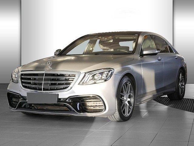 Mercedes-Benz S-Klasse - S 63 AMG 4M+ L Sonderfarbe Matt Vmax Standhz. Ab
