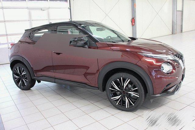Nissan Juke - 1,0 DIG-T 5T N-DESIGN NAVI TECH BOSE EXT+INT-SCHWARZ