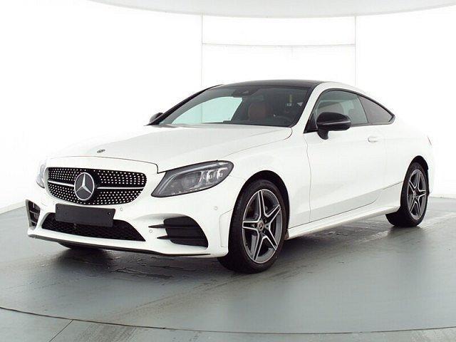 Mercedes-Benz C-Klasse - C 180 Coupé AMG Sport Abstandstemp. LED Pano Nav