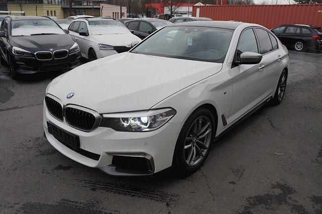 BMW 5er - M550 i xDrive*Navi Prof*HeadUp*Massage*Nappa*ACC