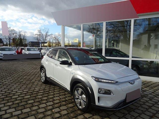 Hyundai Kona - Premium Elektro +LEDER+NAVI+KEYLESS+KLIMASITZE+EL.SITZE+HUD+RÜCKFAHRKAMERA+PDC v+h