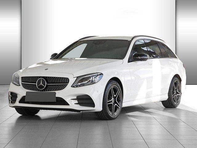 Mercedes-Benz C-Klasse - C 220 d T 4M AMG Line Night Wide Standhz. Abstad