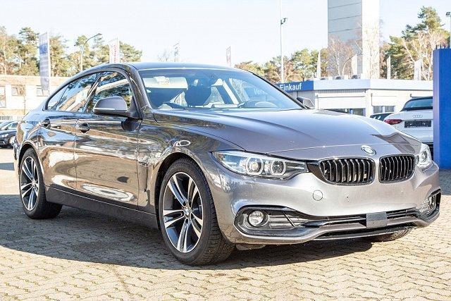 BMW 4er - 420d Gran Coupè *SPORT-LINE*STEPTR*NAV/LED/UPE54