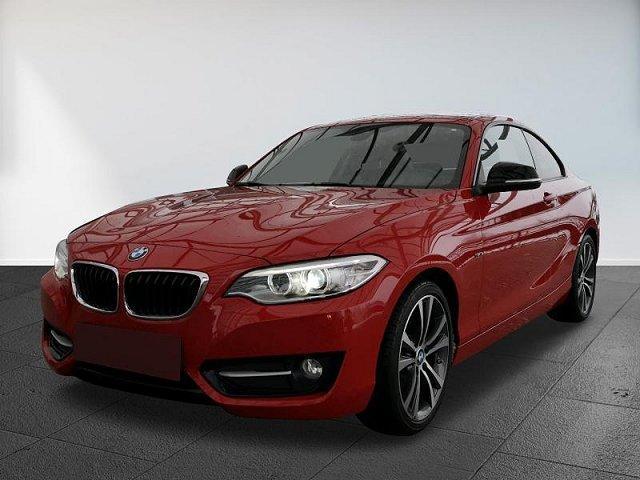 BMW 2er - 220d Coupe Sport Klima Navi BI-Xenon