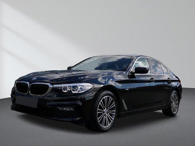 BMW 5er - 520d Sport Line Navigation Klimaautomatik PDC Sportsitze Stoff/Leder
