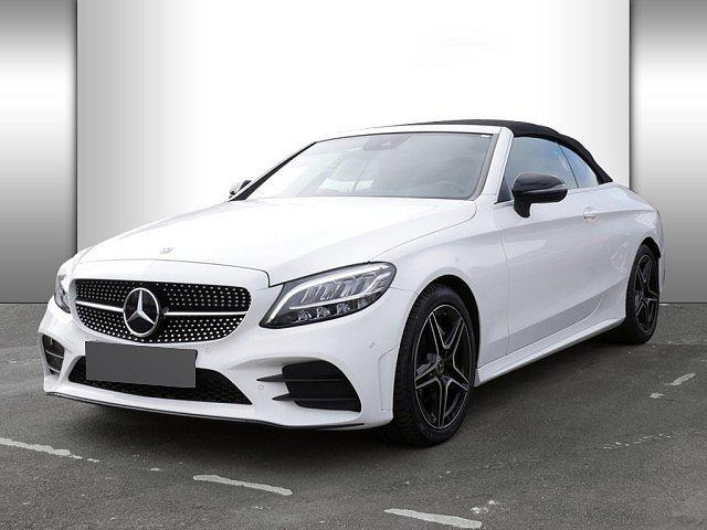 Mercedes-Benz C-Klasse - C 200 Cabrio AMG Line KAMERA NAVI LED 1,99 EFF*