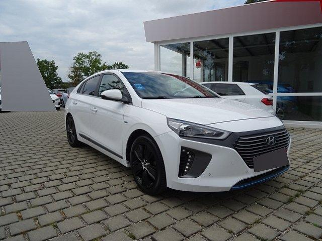 Hyundai IONIQ - Hybrid 1.6 GDI Premium +LEDER+NAVI+KEYLESS+KLIMASITZE+SCHIEBEDACH+EL.SITZE+ACC+BLUETOOTH