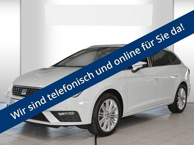 Seat Leon Sportstourer ST - 2.0 TDI DSG - Xcellence*Navi Plus*Winter-Paket*PDC*Spiegel-Paket*Teilleder*Sportsitz