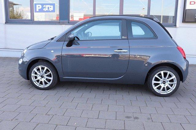 Fiat 500C - 1.2 8V LOUNGE 51kW Dualogic NAV deutsch. FZ