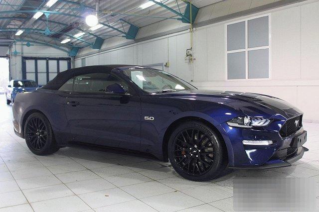 Ford Mustang Cabrio - 5,0 V8 AUTO. GT NAVI LED BO LEDER LM19