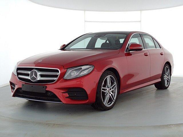 Mercedes-Benz E-Klasse - E 200 4M AMG Sport Wide AHK Abstandstemp. LED Pa