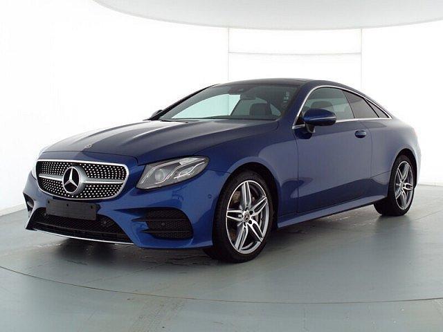 Mercedes-Benz E-Klasse - E 400 d 4M Coupé AMG Sport Wide LED Pano Navi SH
