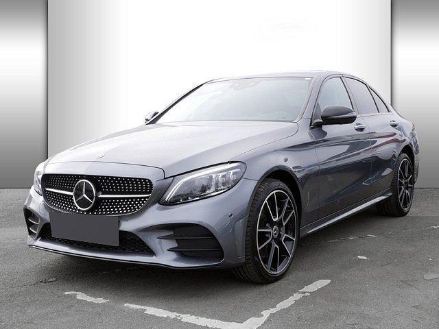 Mercedes-Benz C-Klasse - C 400 AMG Line 4M Distr. Pano Burm Night Memory