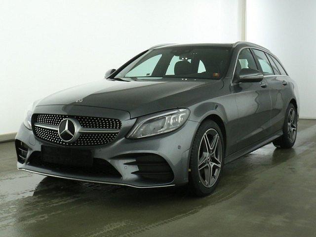 Mercedes-Benz C-Klasse - C 180 T AMG Line AHK Multib Pano Kamera Spur-P.