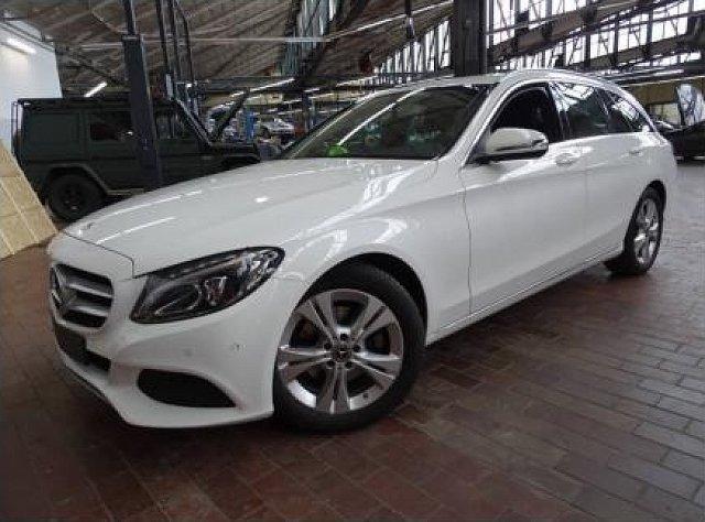 Mercedes-Benz C-Klasse - C 200 d T Avantgarde Standhz LED Navi PTS Standh