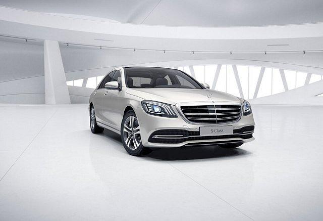 Mercedes-Benz S 560 - Distr Multib Pano Burm Airmatic Com Abstan