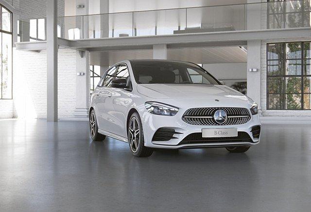 Mercedes-Benz B-Klasse - B 200 d AMG Line AHK LED Pano Navi Kamera LE
