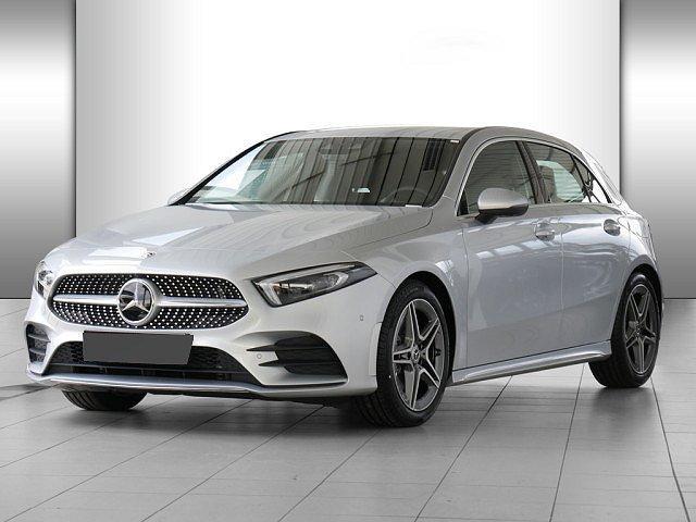 Mercedes-Benz A-Klasse - A 220 AMG Line 4M AHK Abstandstemp. LED Navi Kam