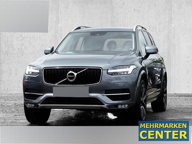 Volvo XC90 - XC 90 Momentum AWD D5 LED Navi StandHZG Kurvenlicht e-Sitze Radar Parklenkass. Rückfahrkam.