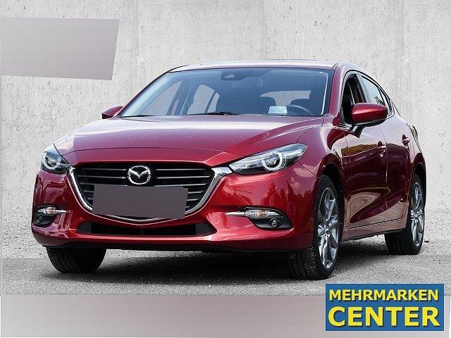 Mazda Mazda3 5-Türer - 3 2.0 SKYACTIV-G 120 BM LED Keyless HUD Rückfahrkam. PDCv+h LED-hinten LED-Tagfahrlicht