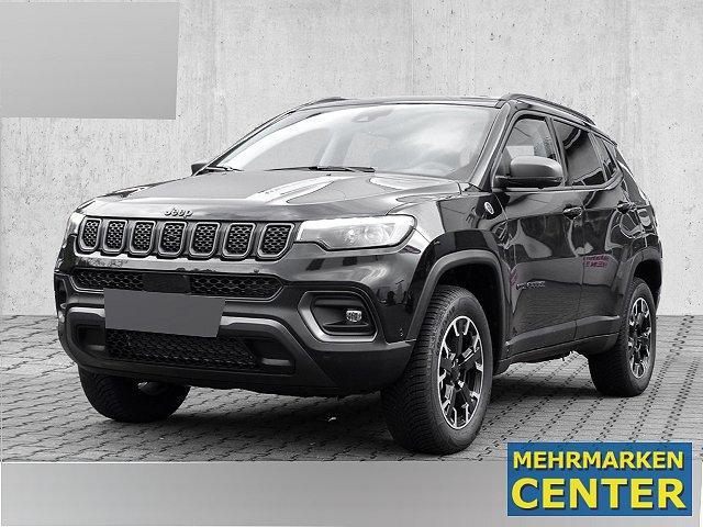 Jeep Compass - 4xe Trailhawk Plug-In Hybrid Leder Navi Kurvenlicht ACC Parklenkass. Rückfahrkam.