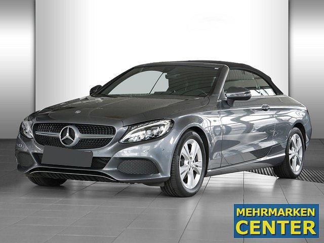 Mercedes-Benz C-Klasse - C 220 d Cabrio LED Navi Totw.-Ass. SHZ Einparkh.