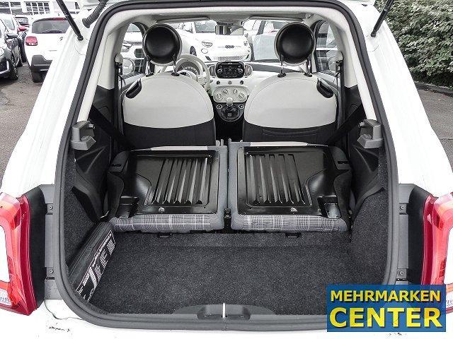 Fiat 500 Lounge 1.2 8V Navi Panorama Multif.Lenkrad Knieairbag RDC Klima Temp PDC AUX USB MP3