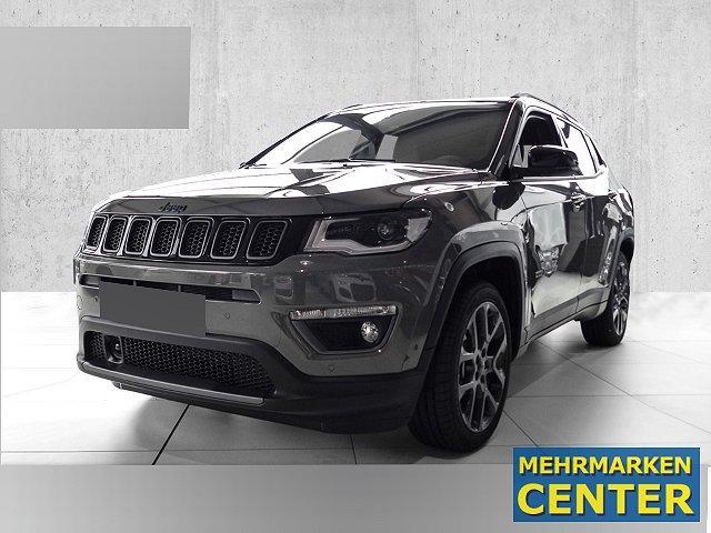 Jeep Compass - 4xe Plug-In Hybrid Leder Navi Kurvenlicht ACC Parklenkass. Rückfahrkam. Allrad