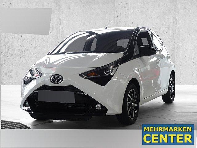 Toyota Aygo - x-final 1.0 Automatik Rückfahrkam. LED-Tagfahrlicht Multif.Lenkrad RDC Klima AUX USB