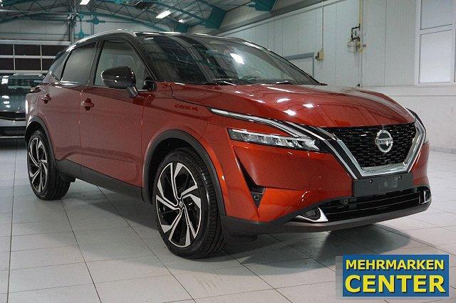 Nissan Qashqai - 1,3 DIG-T MJ21 MHEV 4X4 AUTO. TEKNA+ LM20 2-FARBLACK