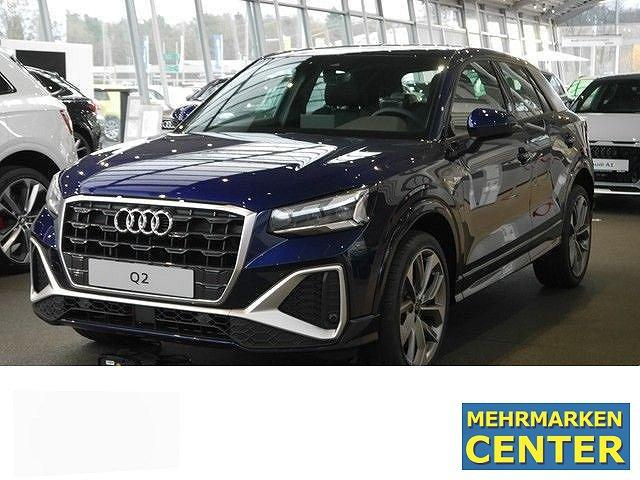 Audi Q2 - 35 TFSI S tronic line Assist. Virtual MMI plus Pano BO