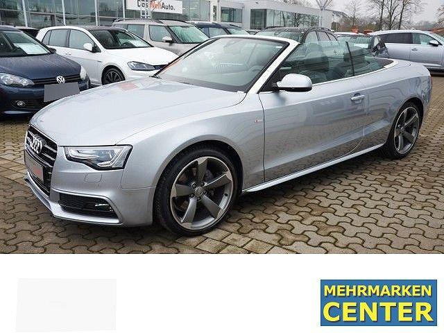 Audi A5 Cabriolet - 3.0 TDI Quattro S-tronic S-LineExterieur/LederAlcantara/Navi