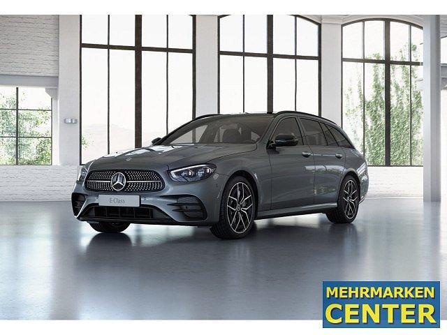 Mercedes-Benz E-Klasse - E 400 d 4M T AMG Sport Night AHK Standhz. Abstan