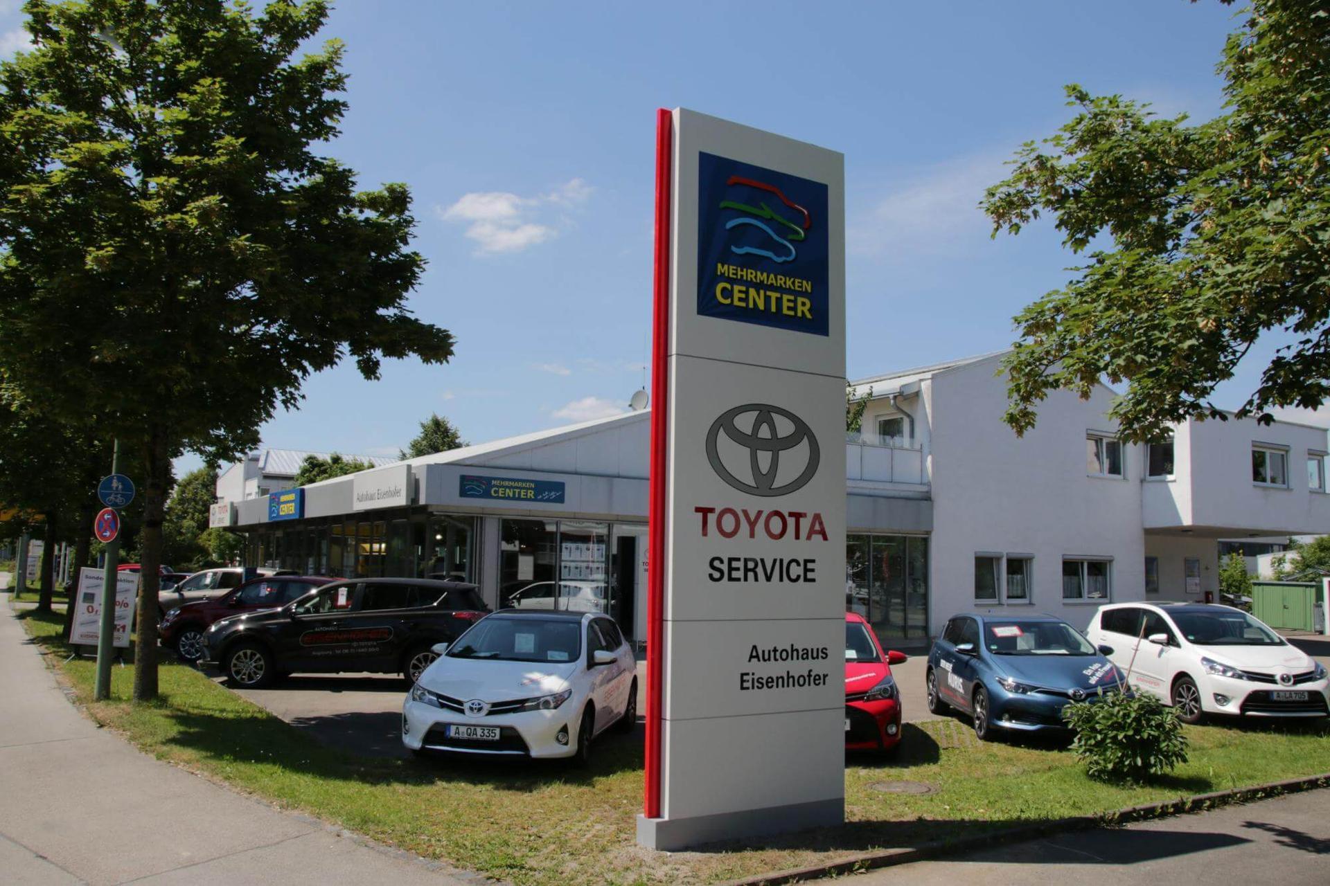 Autohaus Eisenhofer - ein Familienbetrieb mit Herz. MEHRMARKEN CENTER und Toyota Servicepartner. Autohaus Eisenhofer in Augsburg  mit über 100-jähriger Tradition.