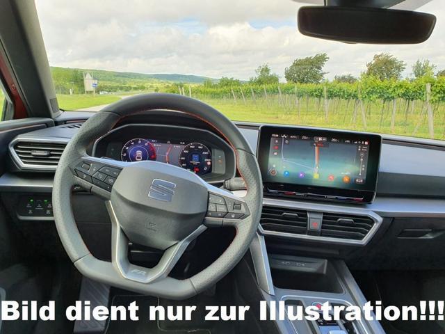 Seat Leon Sportstourer ST - 1.5 eTSI 150 MHEV DSG FR Navi Voll-LED Alu18 Park-