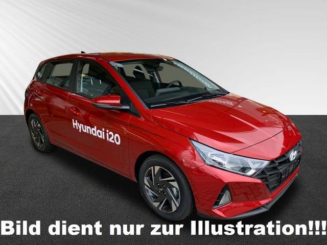 Lagerfahrzeug Hyundai i20 - 1.2 MJ20 LED Navi Bose G.dach Klimaaut S.Hzg R.Cam