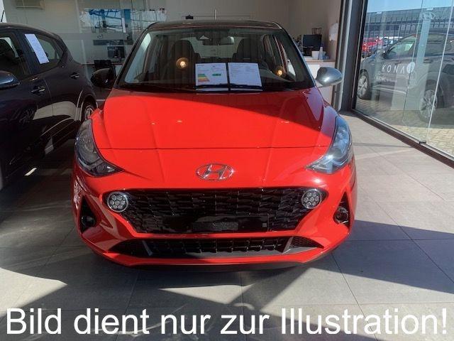 Lagerfahrzeug Hyundai i10 - 1.2 MJ20 5-Sitze Navi TMS ISLW Klima S.Hzg R.Ca