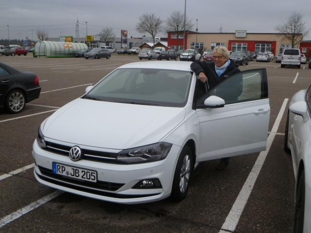Auslieferung in Waghäusel - Volkswagen Polo