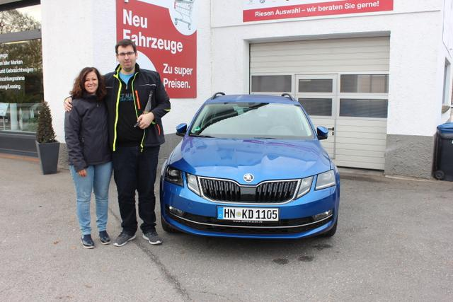 Auslieferung in Gundelsheim - Skoda Octavia Style Kombi