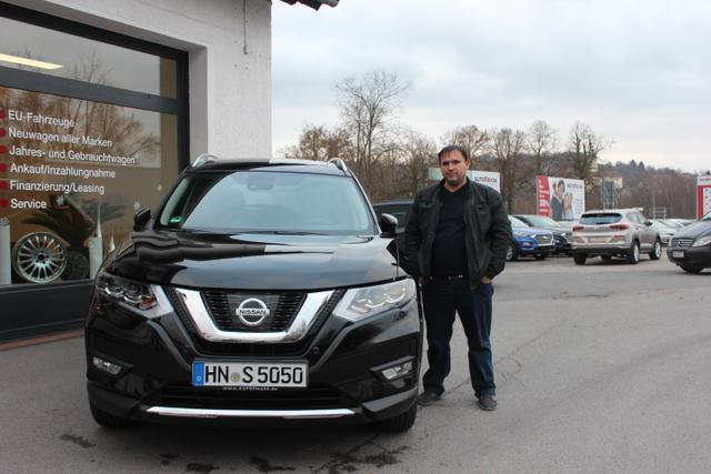 Auslieferung in Gundelsheim - Nissan X Trail