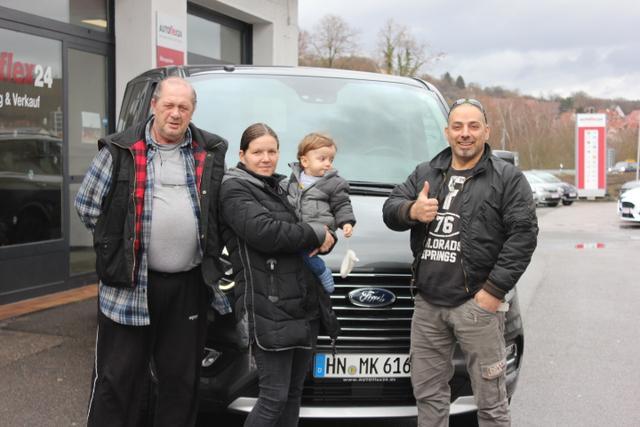 Auslieferung in Gundelsheim - Ford Tourneo Custom