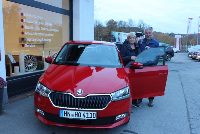 Auslieferung in Gundelsheim - Skoda Fabia Limousine