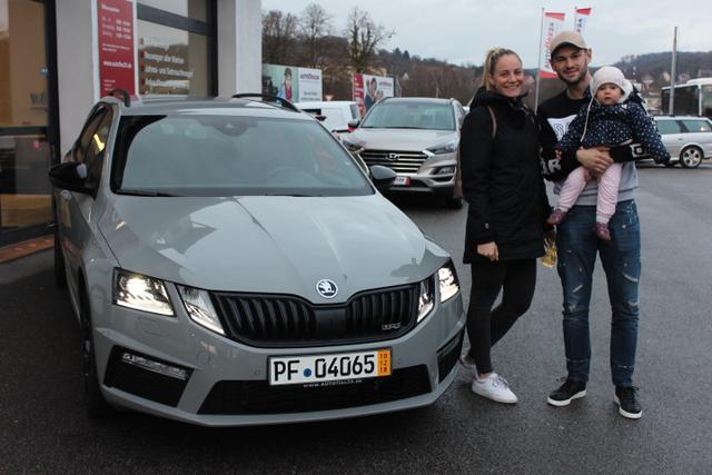 Auslieferung Skoda Octavia RS in Gundelsheim